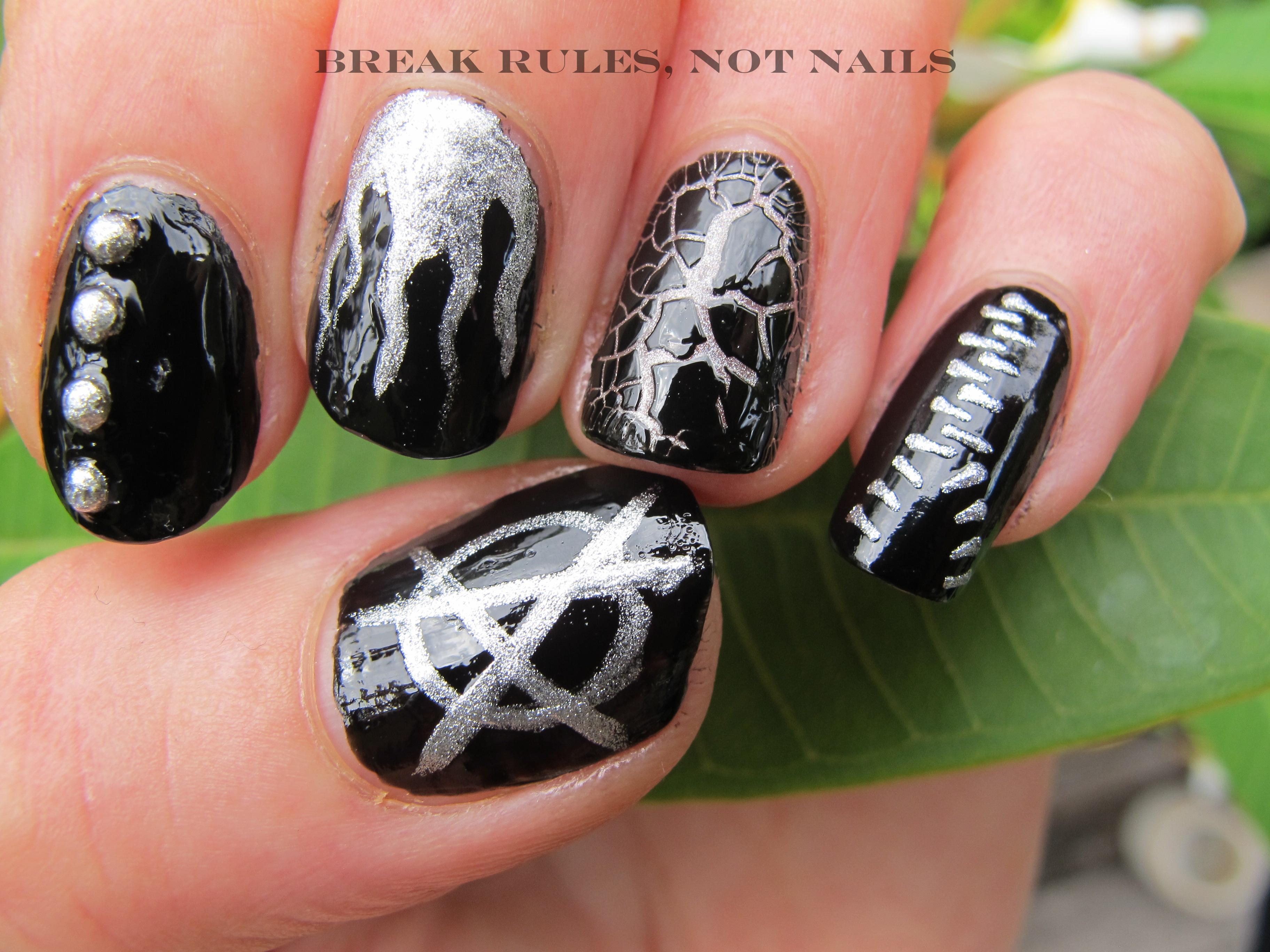 nail art | Break rules, not nails