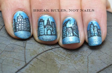 Urban Nail Art Break Rules Not Nails
