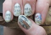 Medieval manuscript nails