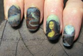 Mona Lisa nails