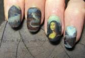 Mona Lisa nails