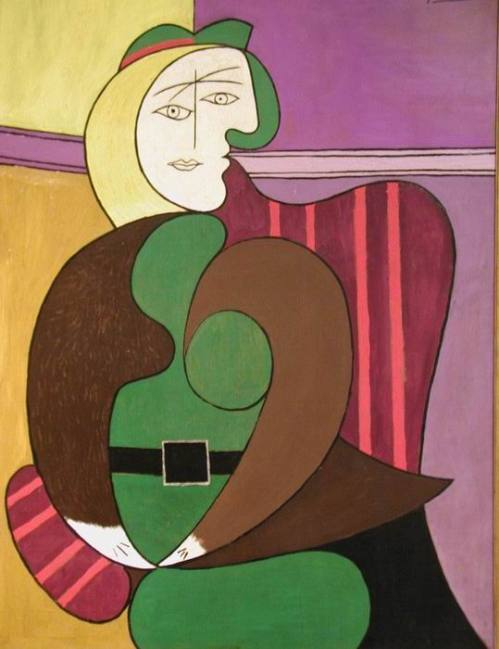 16-Surrealism_Picasso_Red-Arm-Chair-[AIC]