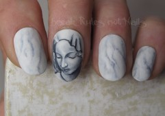 Michelangelo's Pieta nails