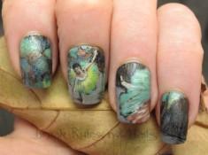 Degas nail art