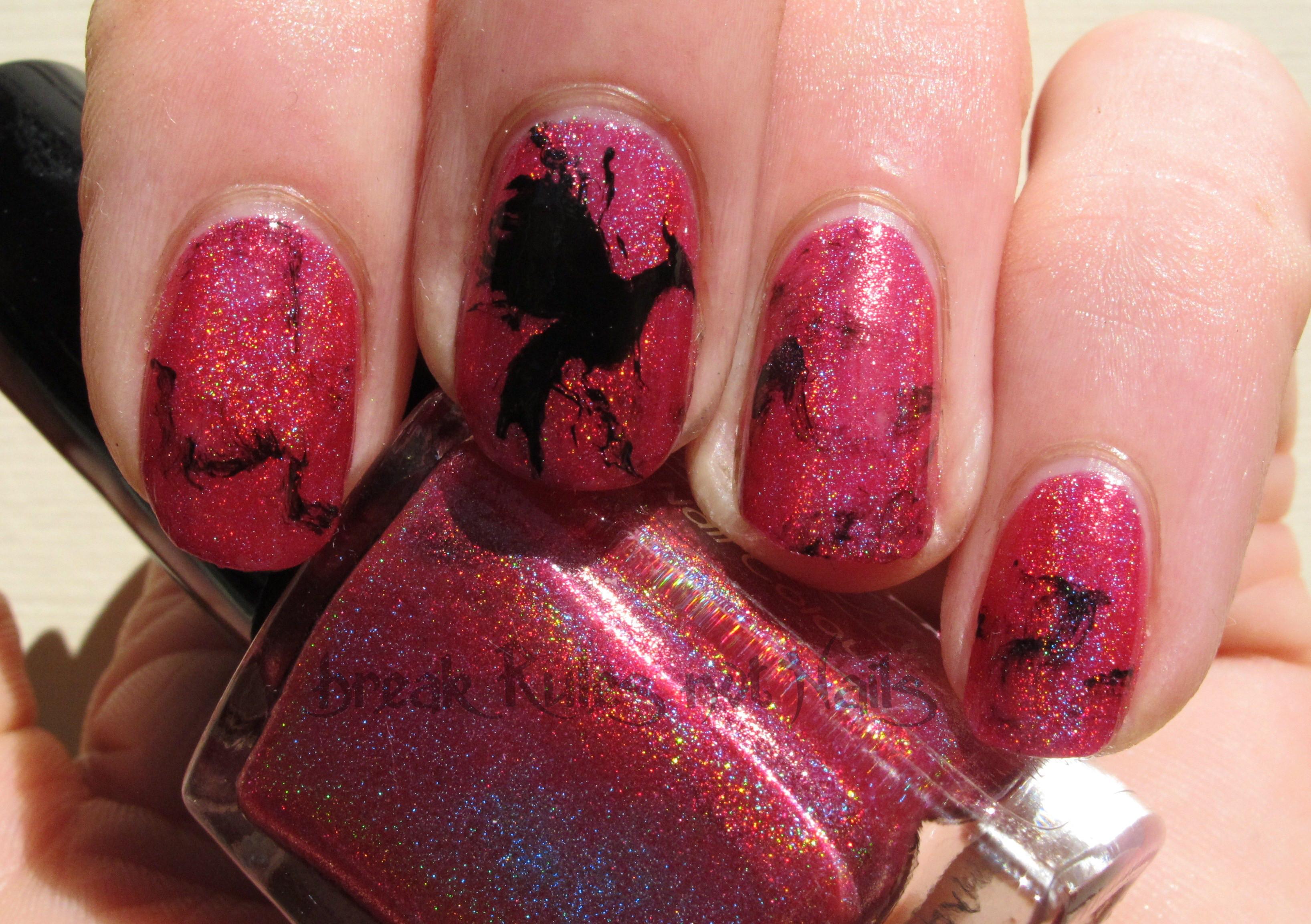 Hunger Games Nail Art Break Rules Not Nails