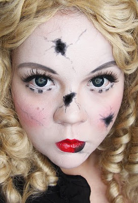 Porcelain Doll Halloween Makeup