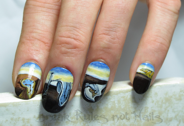 Nail art on fake nails | Break rules, not nails