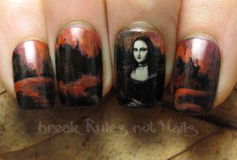 Goth Mona Lisa