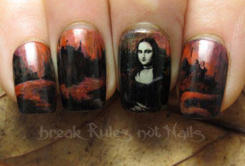 Goth Mona Lisa 2