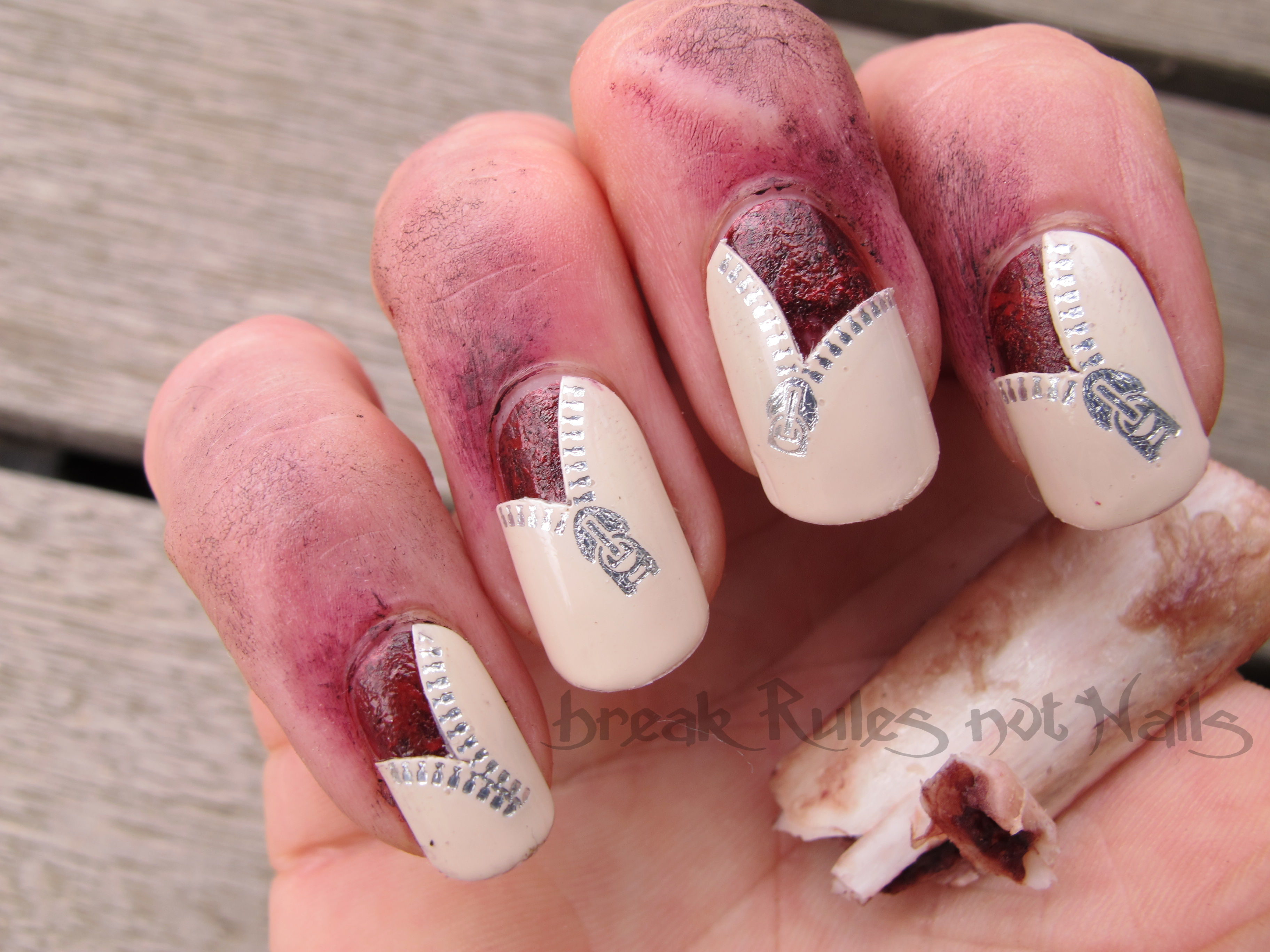 zombie nails | Break rules, not nails