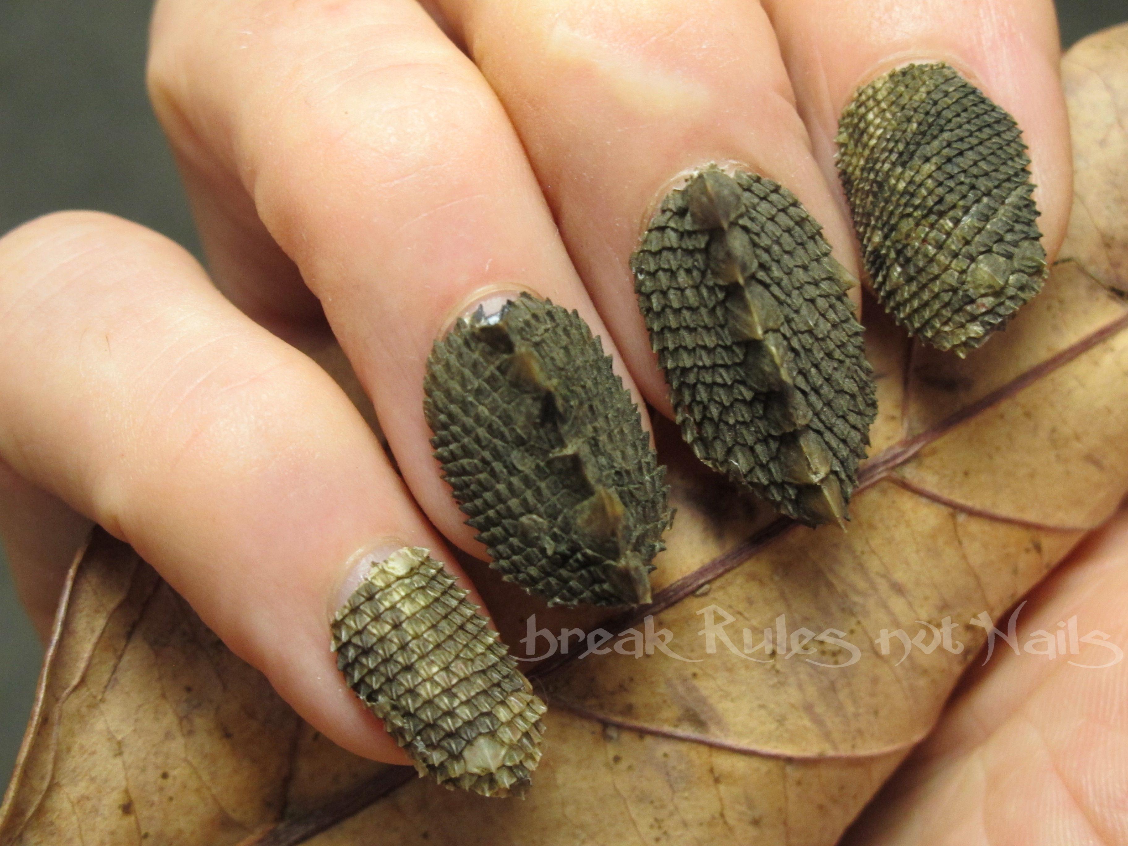 fake nails | Break rules, not nails