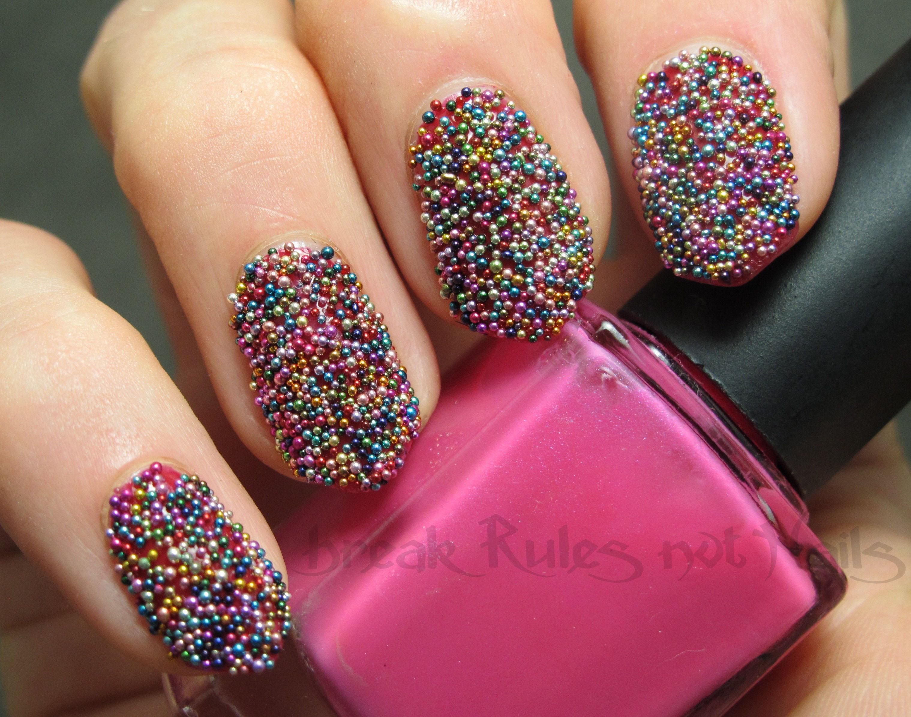 fairy bread nail art | Break rules, not nails