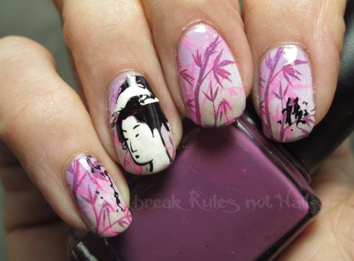 Japanese pink top