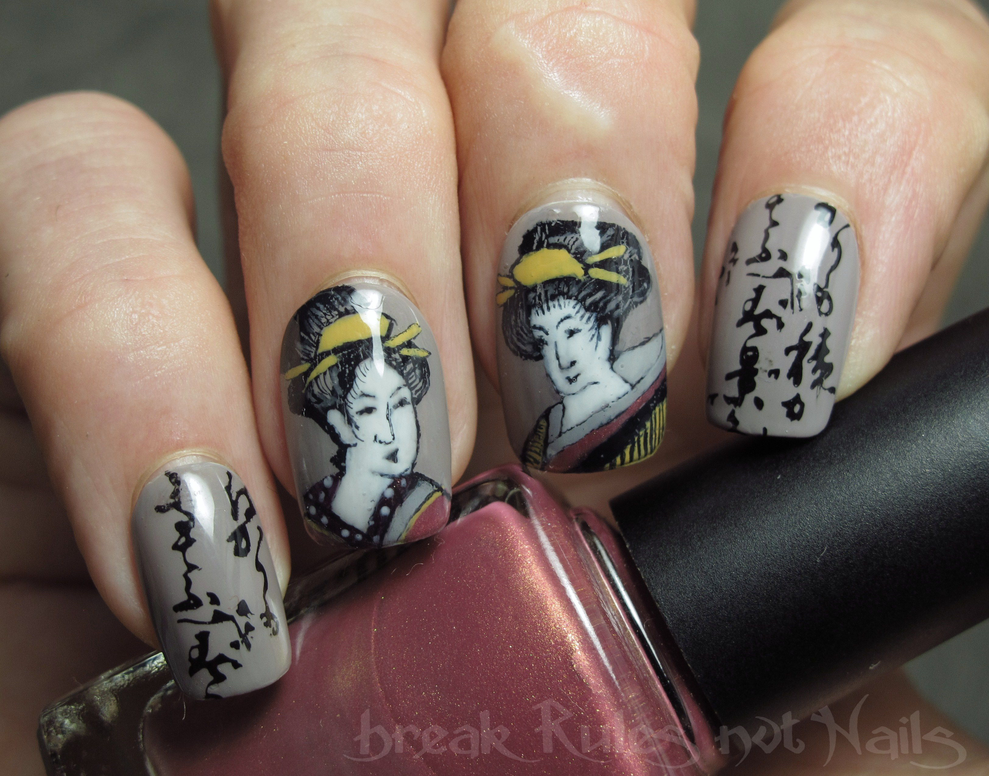 Japanese nail art | Break rules, not nails