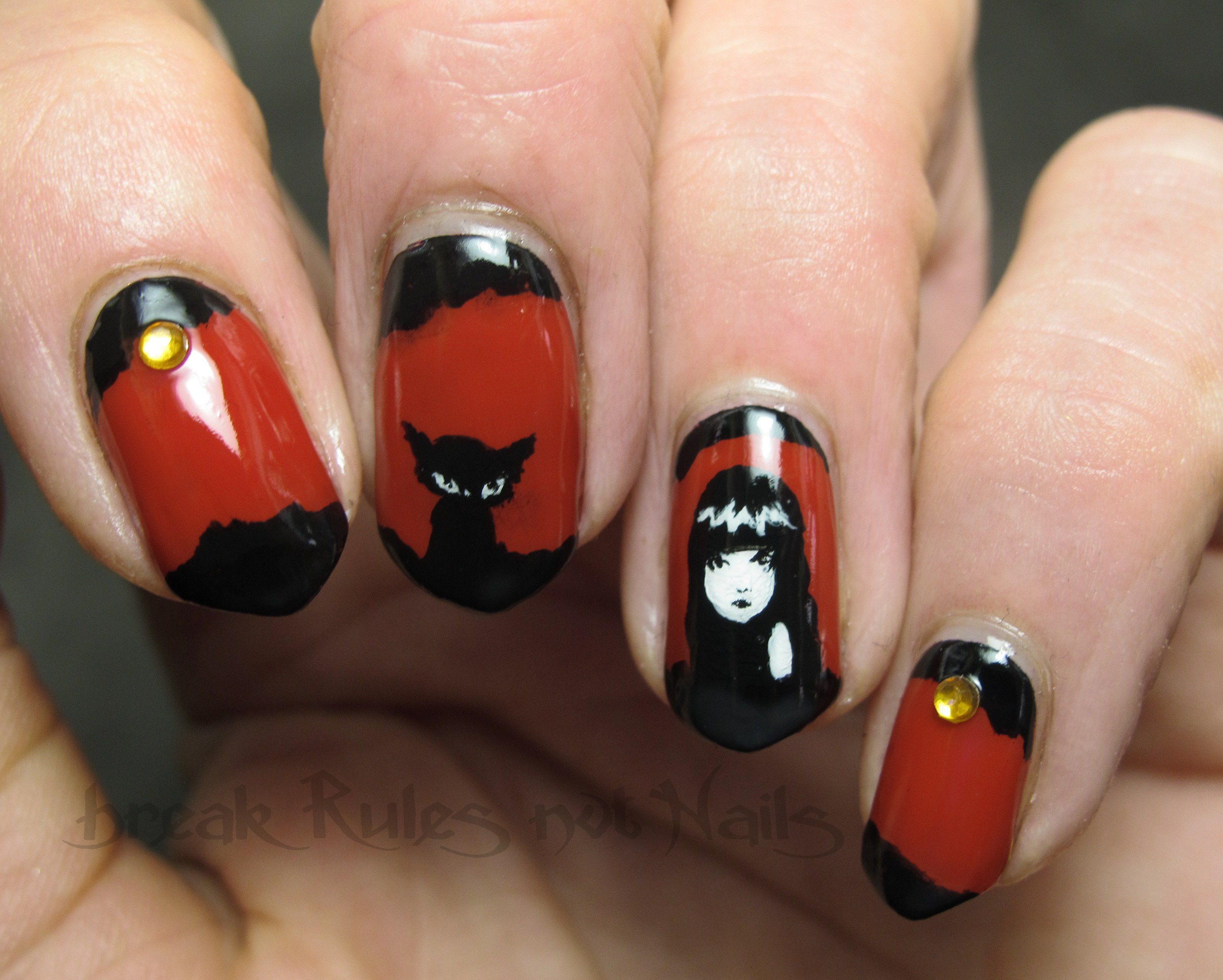 Glossy vs matte nail art | Break rules, not nails