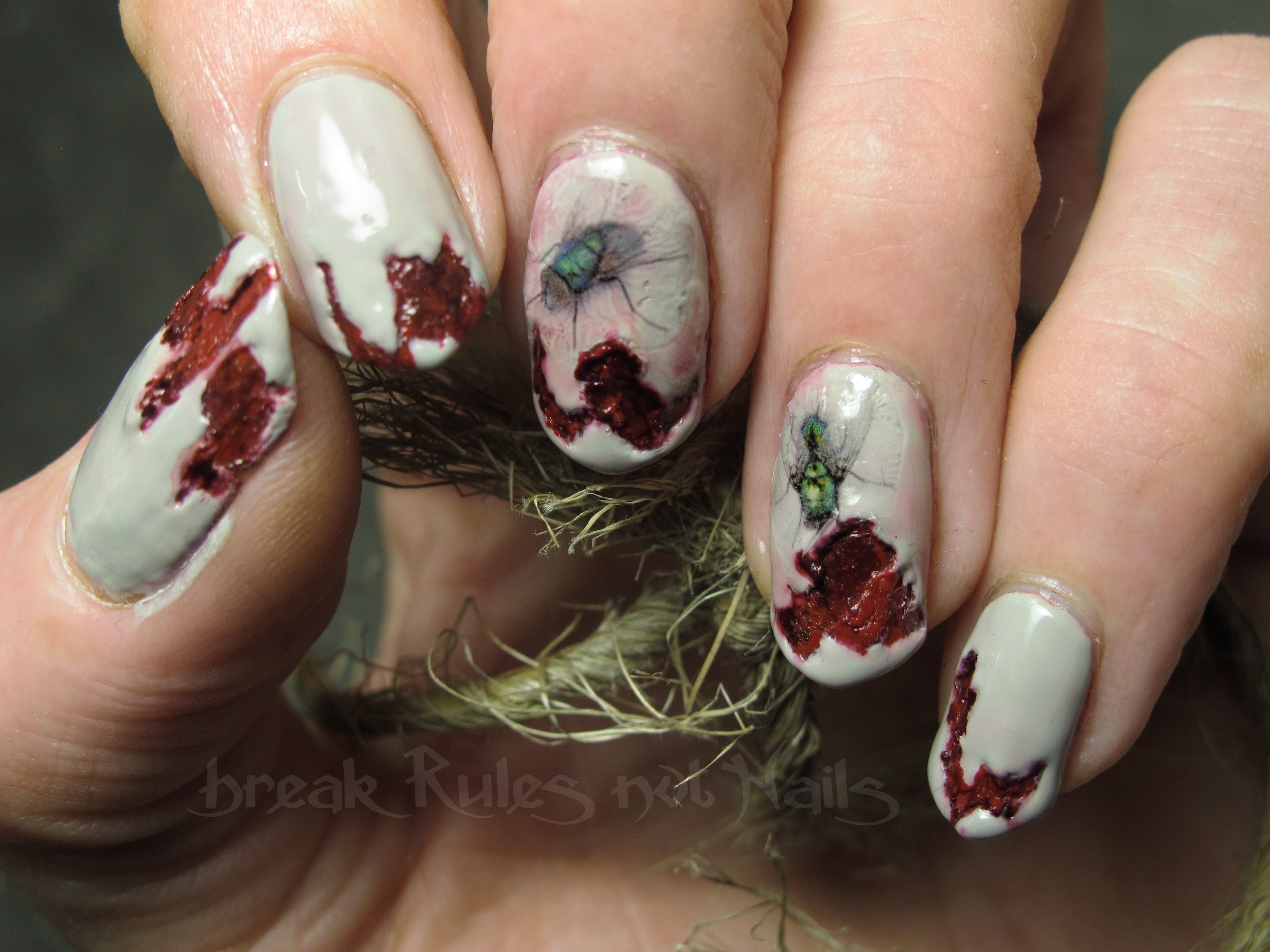 Break rules not nails its all about nail polish colour and gruesome and flies prinsesfo Gallery