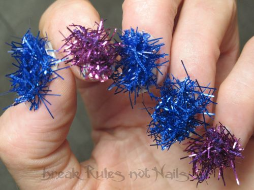 Tinsel fingers 2